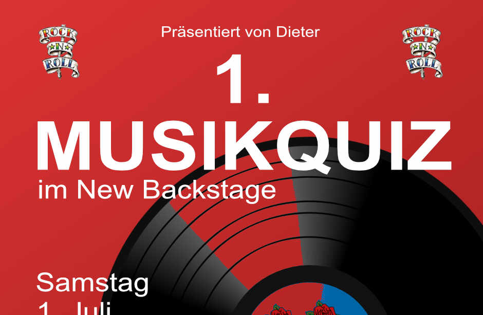 1. Musikquiz im New Backstage