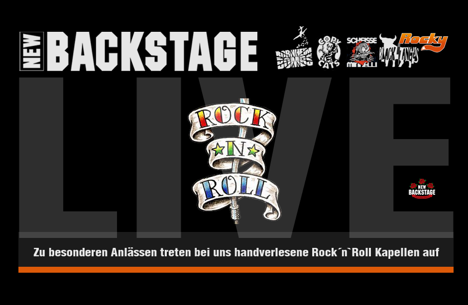 Rock´n`Roll Kapellen