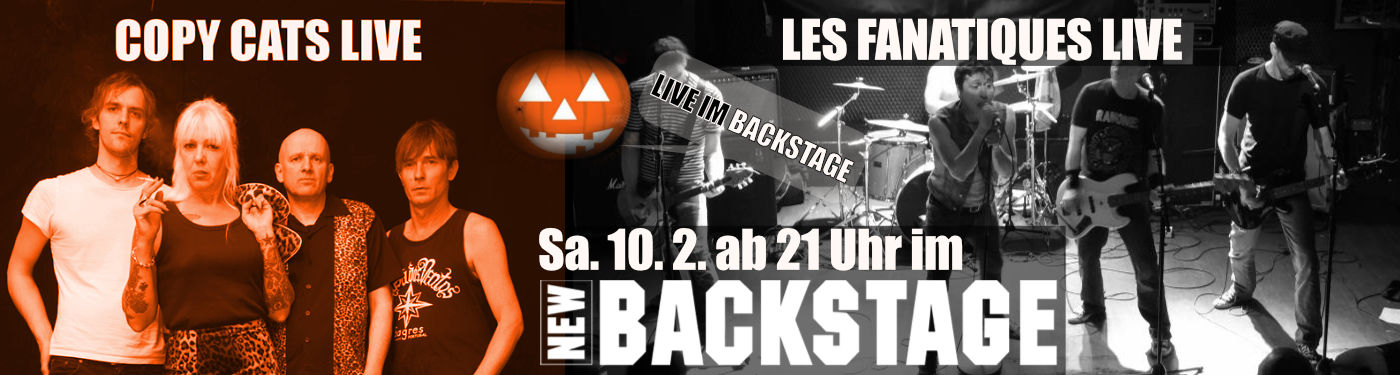 Copy Cats und The Fanatiques live im New Backstage